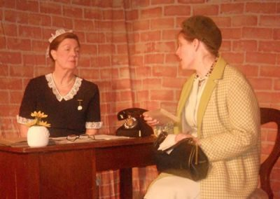 Matron (Val Petty) and Mrs Adams discuss what is to become of Mary