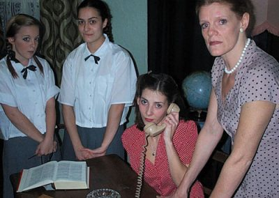 Rosalie (Kirsty McAra), Mary (Francesca Gugliotta), Karen (Melissa Corfield) and Martha (Sheryl Tribe)