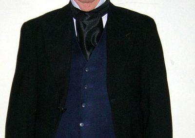 John Davey in costume