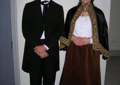 Jamie Lloyd and Jenny Wallhead