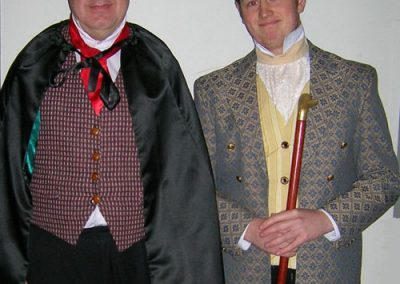 Chris Matthews and Luke Niemiec