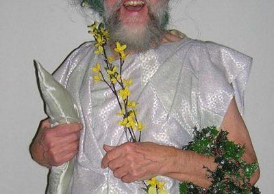Bob Shirley as Christmas Past