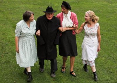 Agnes (Dot Howes), Jack (John Leighton), Kate (Su Toogood) and Maggie (Pam Marnie)