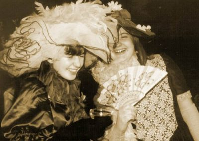 Jenny Davidson and Clair Dewison in a publicity still