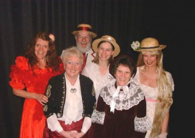 Sheryl Tribe, Jane Walker, Eddy Simpson, Tracey Hunt, Carolyn Jones and Su Toogood