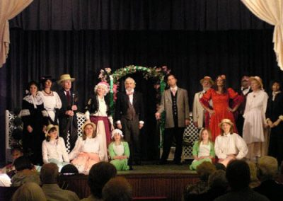 All cast and chorus
