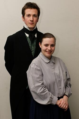 Dom McAndrew and Helen Fleshbourne