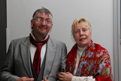 Dave Hewitt and Eileen Finningley