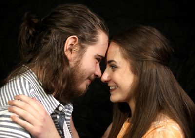 Romeo and Juliet publicity shot(Aiden Clark and Sophie Marlowe)