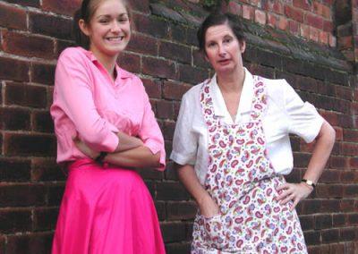 Hilda (Carly Bustin) and Daisy (Su Toogood)