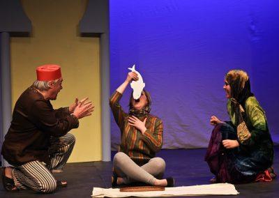 The Little Beggar: Christopher Adams, Jose Bruce and Jenna Starar
