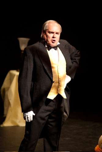 Victor the valet (Christopher Adams)