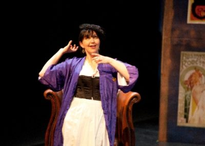 Sasha Drennan as Gigi's mother, Andrée