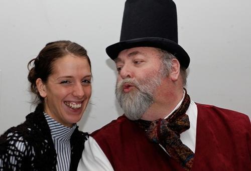 Holly Eggboro and Ian Smith