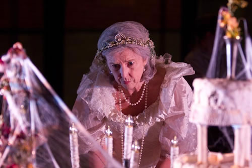 Janet Marshall as Miss Havisham