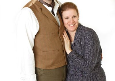Will (Jason Hippisley) and Maggie (Vicky Ashberry)