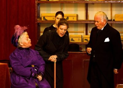 Mrs Hepworth (Ruth Andrews) is an important customer for the shop