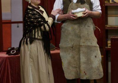 Ada (Lisa Hewitt Smith) and Will (Jason Hippisley)