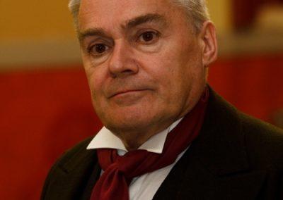 Dr Macfarlane, played by Christopher Adams