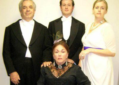 Arthur (Maurice Raphael), Eric (Luke Niemiec), Sheila (Nicola Stocks) and Sybil (Mary Scott)