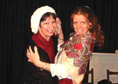 Sarah Harding (Su Toogood) and Bertha Treecot (Sheryl Tribe)