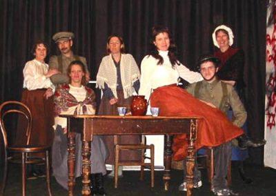 The cast of 'The Accrington Pals'