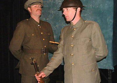 CSM Rivers (Richard Wood) and Tom Hackford (Patrick Cant)