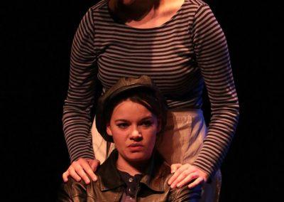 Mercutio and Benvolio (Georgina Wilmer and Emily Ashberry)