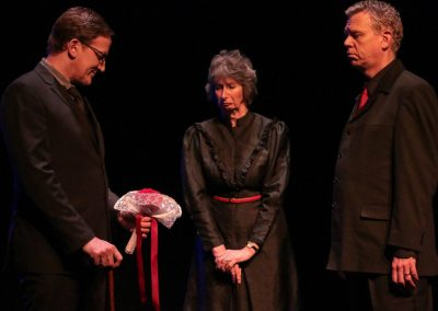 Paris, Patrizia and Capulet (Simon Harvey, Su Toogood and Jez Ashberry)