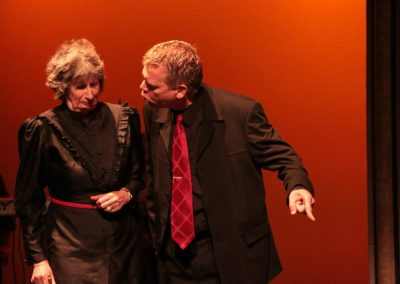 The Capulets (Peggy Reading, Su Toogood and Jez Ashberry)