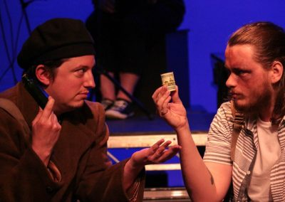 The Vagrant and Romeo (Stephen Gillard and Aiden Clark)