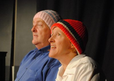 Juli Charlton and Colin Brimblecombe as Alice and Fred